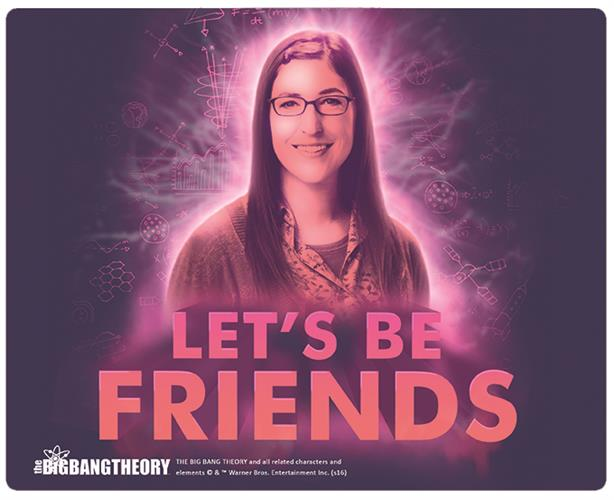 Mouse Pad Big Bang Theory Amy