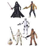 Star Wars Episode VII Black Series Actionfiguren 15 cm 2015 Wave 1 Sortiment (6)