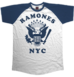 T-Shirt Ramones Retro Eagle