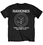 T-Shirt Ramones First World Tour 1978