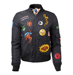 Jacke Marvel - Black Bomber mit Hero Patches