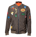 Jacke Marvel - Men's Green Momber Jacke Hero Patches