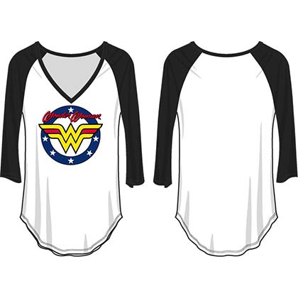 Longsleeve Trikot Wonder Woman