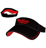 "Schirm Sublime  - in schwarz ""Long Beach"" Visor"