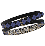 Gürtel Fall Out Boy - Blk Arg Print Stitch Belt