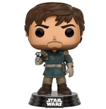 Star Wars Rogue One POP! Vinyl Wackelkopf-Figur Captain Cassian Andor 9 cm