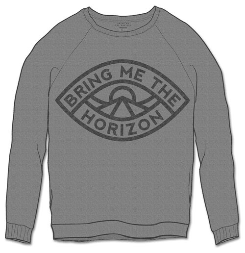 Bring Me The Horizon  Sweatshirt für Männer - Design: Eye