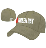 Kappe Green Day Grenade Logo