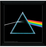 Bild mit Rahmen Pink Floyd - Dark Side Of The Moon - 30x30 Cm