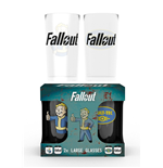 Glas Fallout - zwei Glasser Packung - Vault Tec