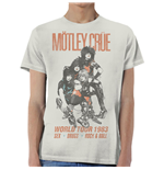 T-Shirt Mötley Crüe World Tour Vintage