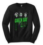 Lange Armel T-Shirt Green Day Drips - Mann