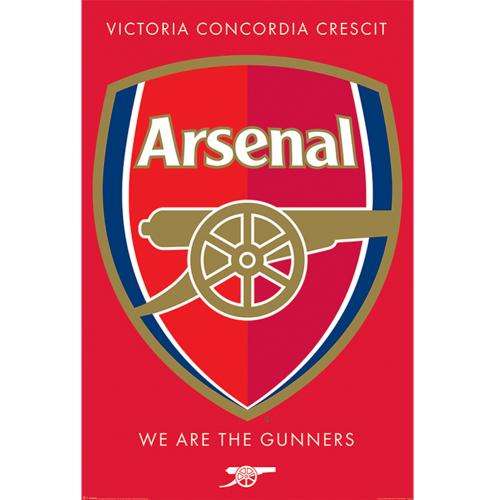 Poster Arsenal F.C. Crest 36