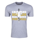 T-Shirt Real Madrid Cristiano Ronaldo - Kinder (grau)