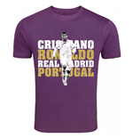 T-Shirt Real Madrid (Violett)