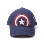 Kappe Marvel Superheroes - Capitain America Vintage, regulierbar