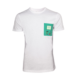 T-Shirt Adventure Time - T-Shirt in weiss, printed chestpocket