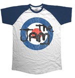 T-Shirt The Jam Target Logo Distressed