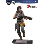 Gears of War 4 Color Tops Actionfigur Kait Diaz 18 cm