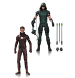 DC TV Actionfiguren Doppelpack Arrow & The Flash 17 cm