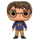 Harry Potter POP! Movies Vinyl Figur Harry Potter (Sweater) 9 cm
