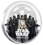 Star Wars Rogue One 1 Oz Silbermünze Empire