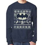 Sweatshirt Batman - Fair Isle Logo
