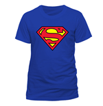 T-Shirt Superman - Logo - Unisex in blau