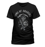 T-Shirt Sons of Anarchy - Reaper Logo - Unisex in schwarz