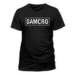 T-Shirt Sons of Anarchy - Samcro Banner - Unisex in schwarz