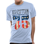 T-Shirt Led Zeppelin - US 75 - Unisex in blau