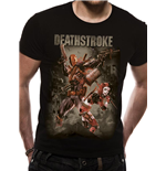 T-Shirt Justice League - Deathstroke - unisex in schwarz