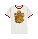 T-Shirt Harry Potter - Quidditch - unisex in weiss