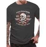 T-Shirt Foo Fighters  - Matter Of Time - Unisex in grau