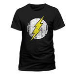 T-Shirt Flash - Logo - unisex in schwarz