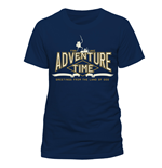 T-Shirt Adventure Time - Collegiate - Unisex in blau