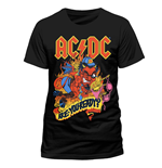 T-Shirt AC/DC - Are You Ready - unisex in schwarz
