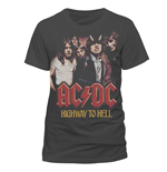 T-Shirt AC/DC - HsH Photo - Unisex in grau