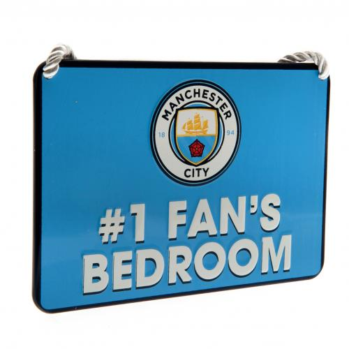 Schilder Manchester City FC No1 Fan