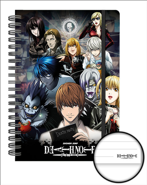 Notizbuch Death Note 248319