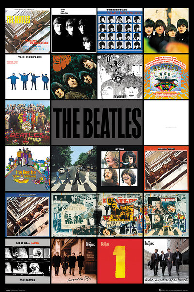 Poster Beatles 248556