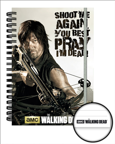 Notizbuch The Walking Dead Crossbow A5