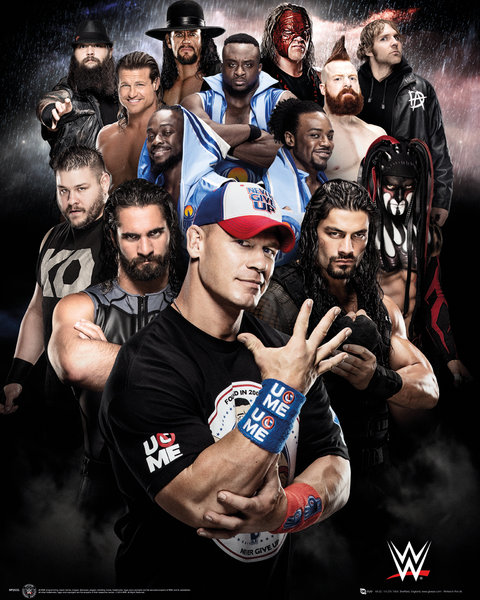 Poster WWE  248605