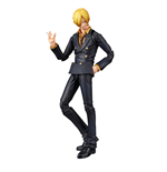 One Piece Variable Action Heroes Actionfigur Sanji 18 cm