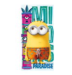 Minions Handtuch Funny Paradise 140 x 70 cm
