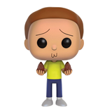 Rick and Morty POP! Animation Vinyl Figur Morty 9 cm