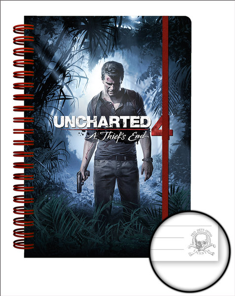 Notizbuch Uncharted 249216