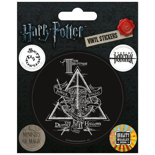 Aufkleber Harry Potter Deathly Hallows