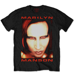 T-Shirt Marilyn Manson Bigger than Satan