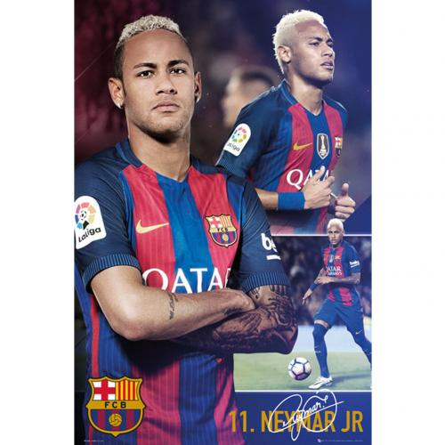 Poster FC Barcelona Neymar Collage 66